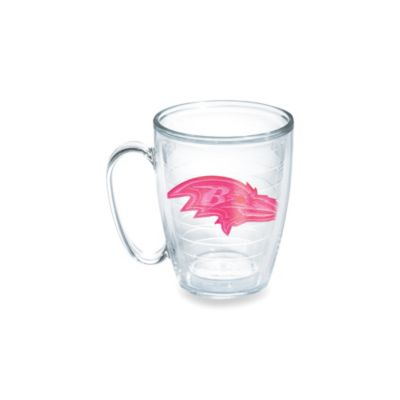Tervis® Baltimore Ravens 15-Ounce Emblem Mug in Neon Pink