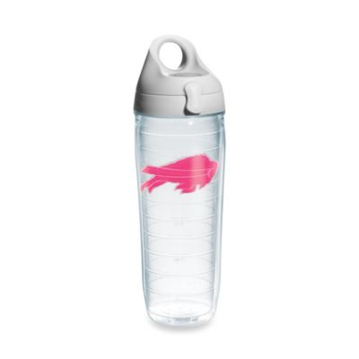 Tervis® Buffalo Bills 24-Ounce Water Bottle in Neon Pink