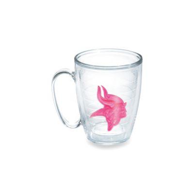Tervis® Minnesota Vikings 15-Ounce Emblem Mug in Neon Pink