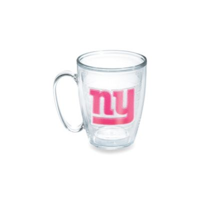 Tervis® New York Giants 15-Ounce Emblem Mug in Neon Pink