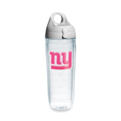Tervis® New York Giants 24-Ounce Water Bottle in Neon Pink