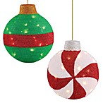 Pre-Lit 18-Inch Assorted Ornament
