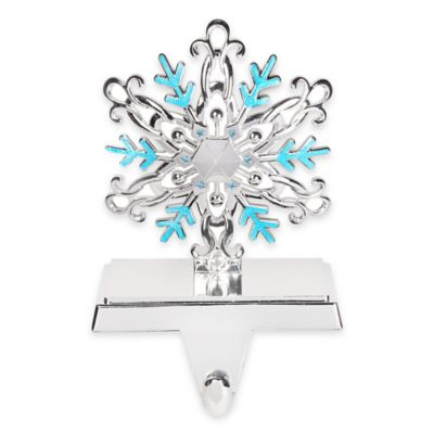 Crystals from Swarovski® Harvey Lewis™ Snowflake Christmas Stocking Hanger