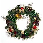 24-Inch Decorated Holiday Wreath
