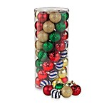 Assorted Christmas Ornaments Value Pack (Package of 50)