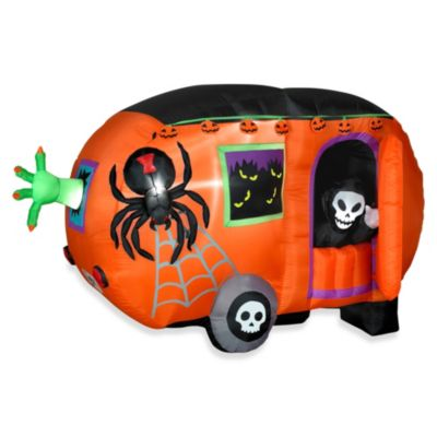 Airblown® Inflatable Outdoor 5-Foot Animated Halloween Camper