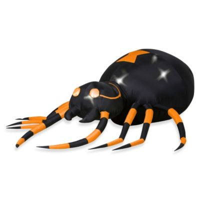 Inflatable Outdoor 2.5-Foot Animated Spider