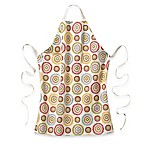 Suzani Print Self-Adjusting Apron