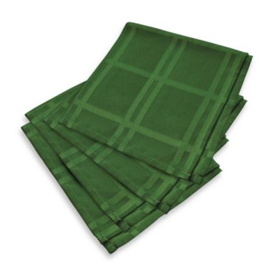Origins Holiday Green Napkins (Set of 4)