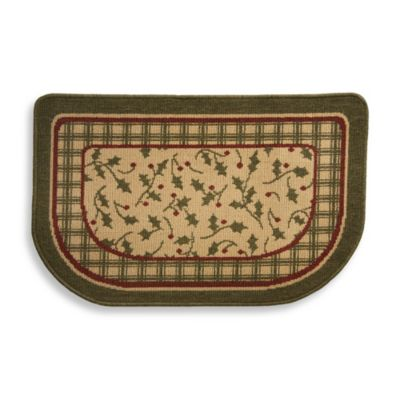 Holly Center Woven Homestyle Slice Rug