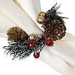 Winter Glitter Napkin Rings (Set of 4)