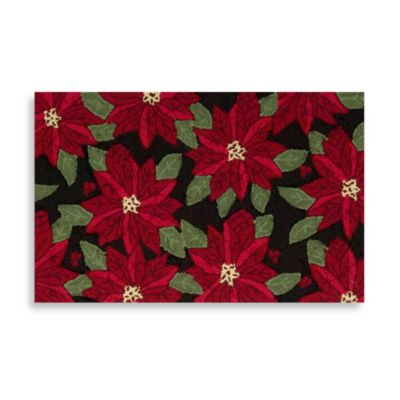 Hand-Hook Holiday Accent/Kitchen Rug