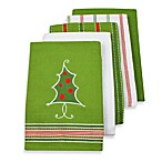 Christmas Tree Kitchen Dishtowel 5-Pack