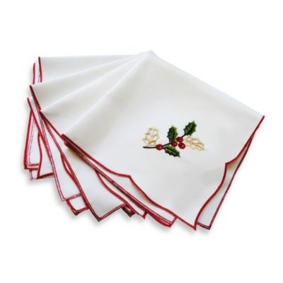 Lenox® Holiday™ Cutwork Napkin