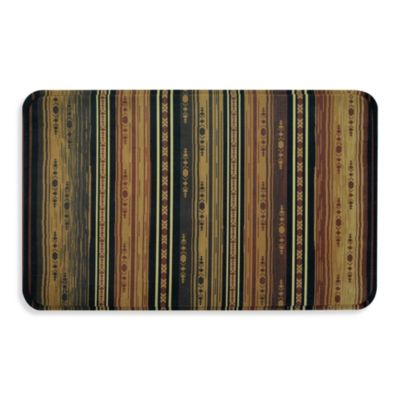 Calm Chef Kitchen Mat in Aztec Stripe