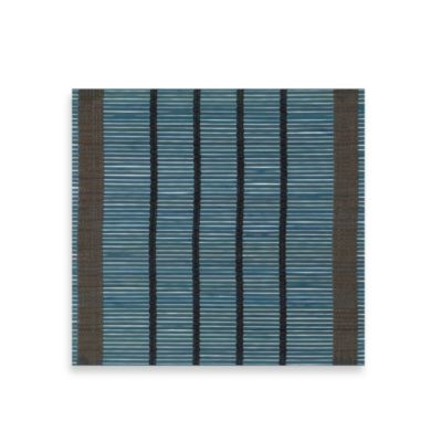 Bamboo Blue Stripe Square Placemat