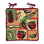 Park B. Smith® Hot Peppers Tapestry Chair Pads