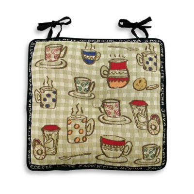 Park B. Smith® Rustic Cafe Chair Pad in Tapestry