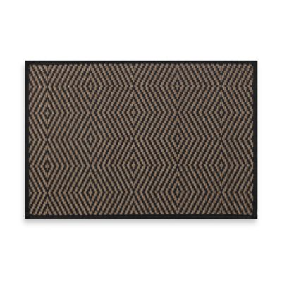 Bamboo Illusion Placemat in Black