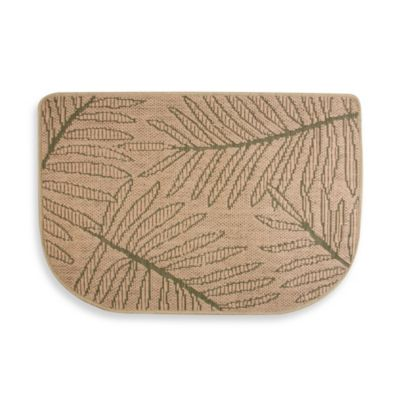 Bacova® Palm Jute Slice Kitchen Rug