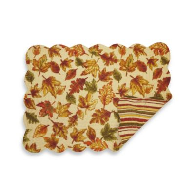 Autumn Leaves Placemat - 100% Cotton