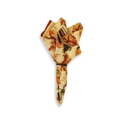 Autumn Leaves Napkin - 100% Cotton
