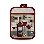Fine Red Wine Kitchen Pot Mitt