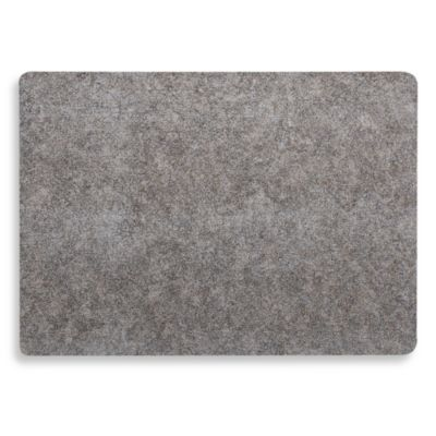 Gila Laminated Rectangle Placemat in Silver