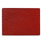 Pebbles Laminated Rectangle Placemat in Red