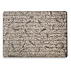 Bricks Laminated Rectangle Placemat in Pewter