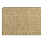 Cave Laminated Rectangle Placemat in Gold