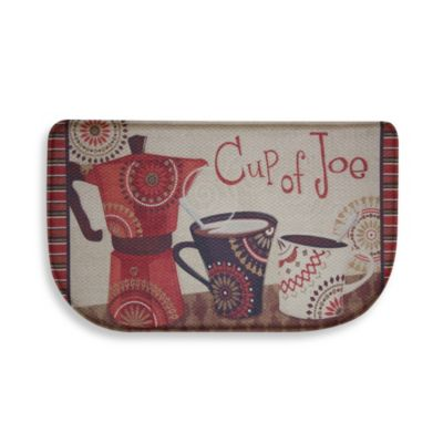 Bacova Cup of Joe Memory Foam Slice Rug