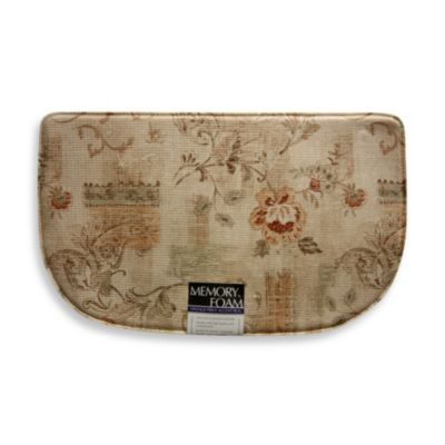Bacova Inspiration Memory Foam Slice Rug