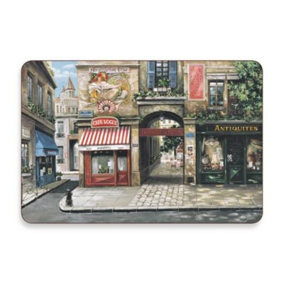 Village Square Cork-Backed Placemats (Set of 4)