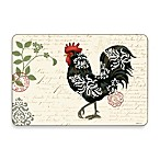 Damask Roosters Multi-View Cork-Backed Placemats (Set of 4)