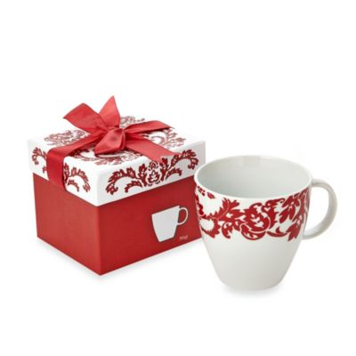 Red Scroll 15-Ounce Mug