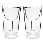Oenophilia Double Wall Wine Glass Set (Set of 2)