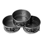 Wilton® 3-Piece Mini Springform Pan Set