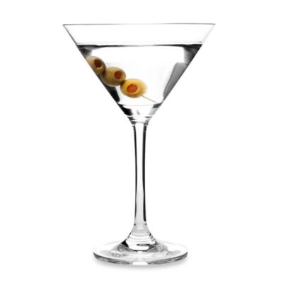 Oenophilia Crystal 8-Ounce Martini Glasses (Set of 6)