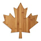Totally Bamboo Canadian Maple Leaf Cutting/Serving Board