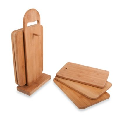 Core Bamboo 7-Piece Sandwich Board Set