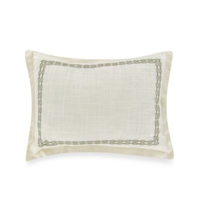 Tommy Bahama Trellis Toss Pillow in Palm Green