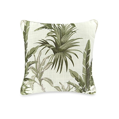 Buy Tommy Bahama Trellis Decorative Pillow in Palm Green from Bed Bath & Beyond