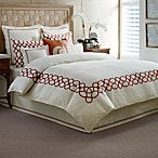 Tommy Bahama® Trellis Pillow Shams in Ivory Crimson