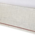 Tommy Bahama® Trellis Bed Skirt in Ivory Crimson