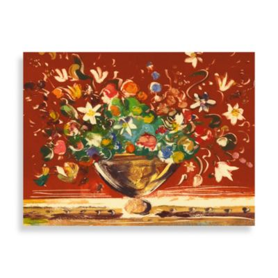"Andrea Fono ""Botanical Rust"" Canvas Print"