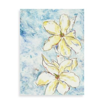"Andrea Fono ""Heavenly Magnolia"" 30-Inch x 40-Inch Canvas Wall Art"