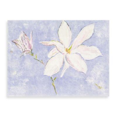 """Andrea Fono """"Magnolia Lilac"""" 30-Inch x 40-Inch Canvas Wall Art"""