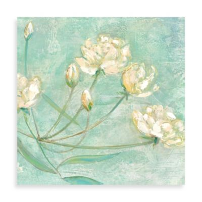 "Elinor Luna ""Blossoms in Blue I"" Canvas Print"