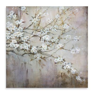 "Carson ""White Elegance"" Canvas Print"